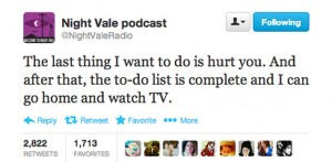 Welcome to Night Vale twitter